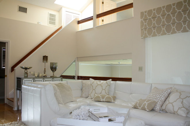 Modern Family Room by Orchid Interiors Group Inc