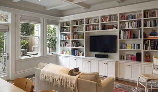 Pleasing 75 Beautiful Family Room Pictures Ideas Houzz Best Image Libraries Counlowcountryjoecom