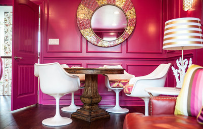 Room of the Day: A Game Room That Brings the Pink