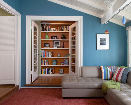 Small reading room houzz - Room design small space decor ...