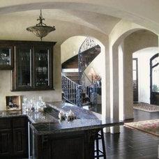 Mediterranean Family Room by Imondi Interiors