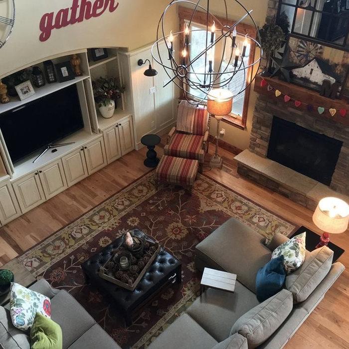 Colorado Colorful Rustic Great Room