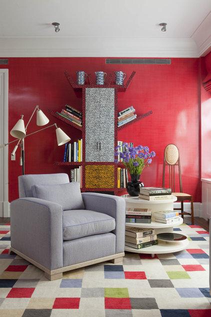 Modern Family Room by Anthony Baratta LLC