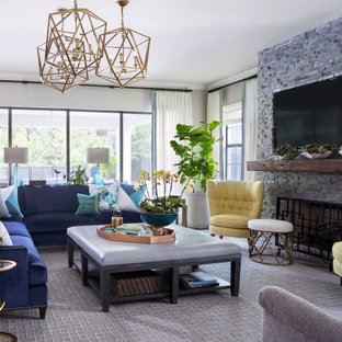 75 Beautiful Large Family Room Pictures Ideas January 2021 Houzz