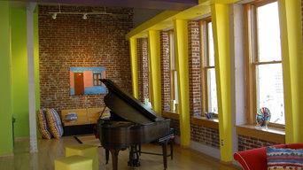 Colorful Loft Condominum