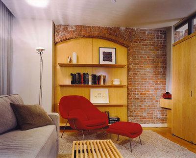 Modern Family Room by Colvin Design