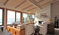 Comfortable Family Room with Ocean View