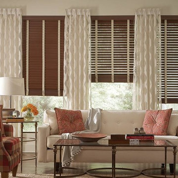 COMPOSITE FAUX WOOD BLINDS - Lafayette Fidelis Faux Wood Blinds with Cloth Tape