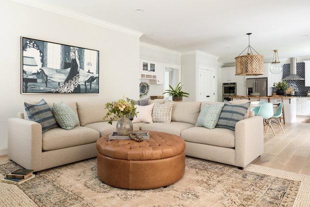 Family Room by Jamie Keskin Design