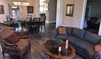 Concord Du Chateau hardwood floor living room