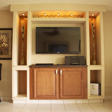 mediterranean family room by Maui Extreme Makeovers LLC