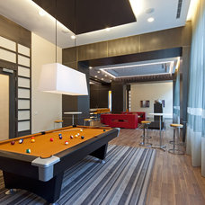 Contemporary Family Room by Peter A. Sellar - Architectural Photographer