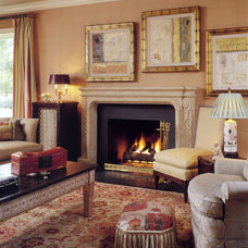 Traditional Family Room by Anthony Wilder Design/Build, Inc.
