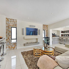 Contemporary Family Room by Active Exposure Photography