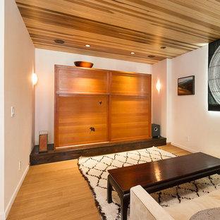 Contemporary Beach House- Family/TV Room