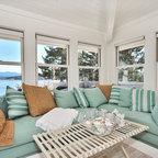4 Season Sunroom Beach Style Family Room Boston By