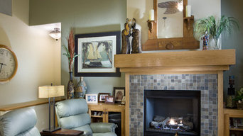 Contemporary craftsman family room