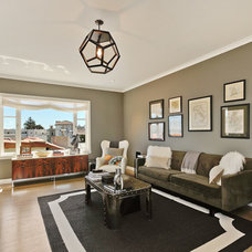Contemporary Family Room by Artistic Designs for Living, Tineke Triggs