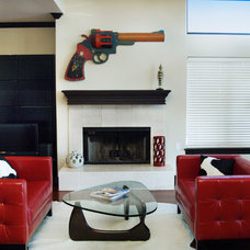 Contemporary Living Room by BRY design