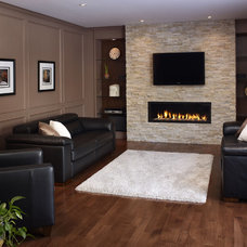 Contemporary Family Room Contemporary Family Room
