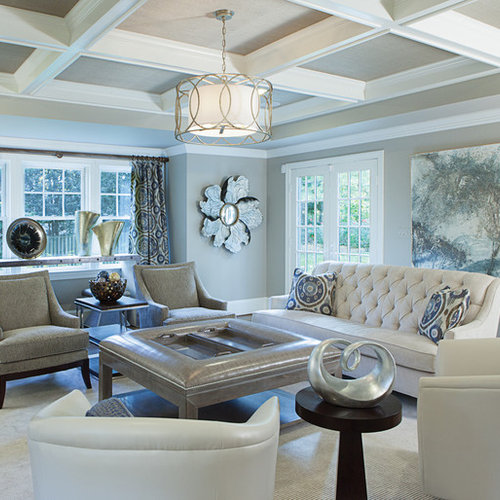 Inspiration For A Contemporary Family Room Remodel In DC Metro
