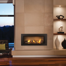 Contemporary Family Room by CJ's Home Decor & Fireplaces