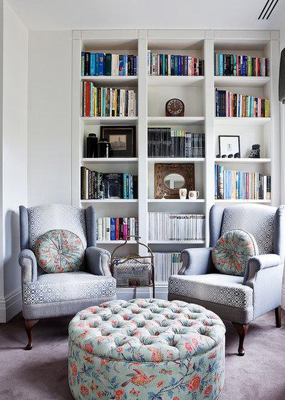 Современный Семейная комната Contemporary Family Room