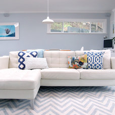 Contemporary Family Room by Michelle Turchini