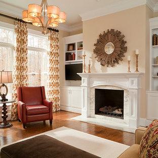 Contemporary Family Room Interior Design