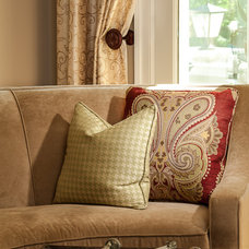 Traditional Family Room by Lauren Nicole Designs