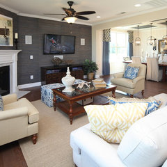 contemporary family room by Standard Pacific Homes Byers Creek