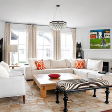 Contemporary Family Room by Kyle Bunting