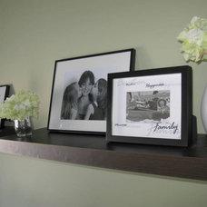 Contemporary Family Room by Shoshana Gosselin
