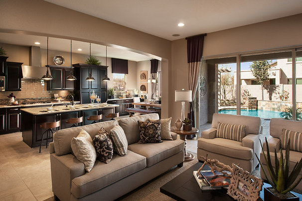 Contemporary Family Room by Maracay Homes Design Studio