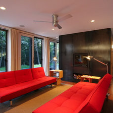 Contemporary Family Room by Resolution: 4 Architecture