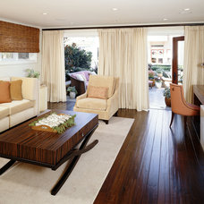Contemporary Family Room by Sarah Barnard Design