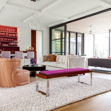 Contemporary Family Room by Stocker Hoesterey Montenegro