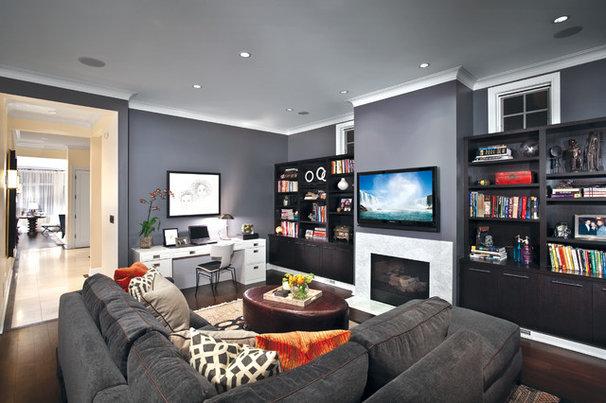 Contemporary Family Room Contemporary Family Room