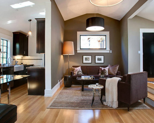 Dark Taupe Accent Wall Home Design Ideas Pictures