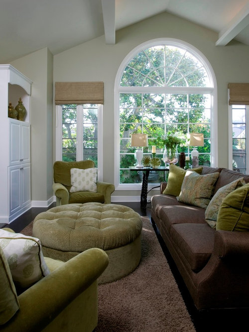 Brown And Green Home Design Ideas, Pictures, Remodel And Decor