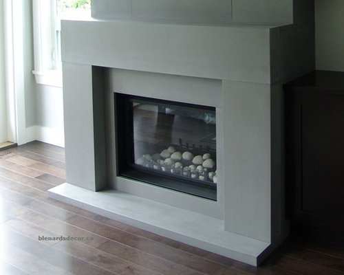 Contemporary Fireplace Mantels Houzz