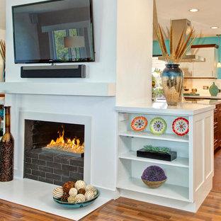 Contemporary La Jolla Kitchen & Family Room