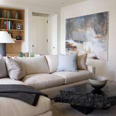 Contemporary Family Room by Tom Stringer Design Partners