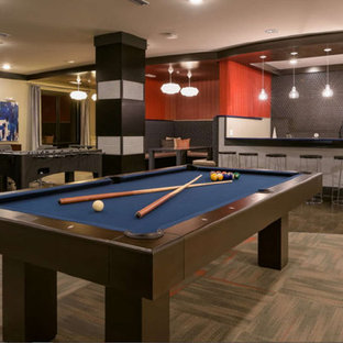 Contemporary Loft Pool Tables