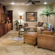 Traditional Family Room by Design InSite