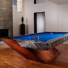 Eclectic Game Tables by Mitchell * Exclusive Billiard Designs *