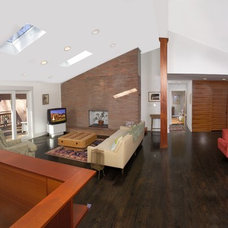 Contemporary Family Room by Red Level Renovations, LLC