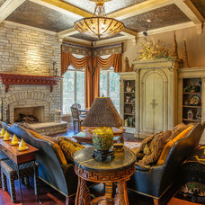 Traditional Family Room by Bill Meyer Photography