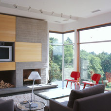 Modern Family Room by Lane Williams Architects