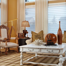Traditional Family Room by Corey Damen Jenkins